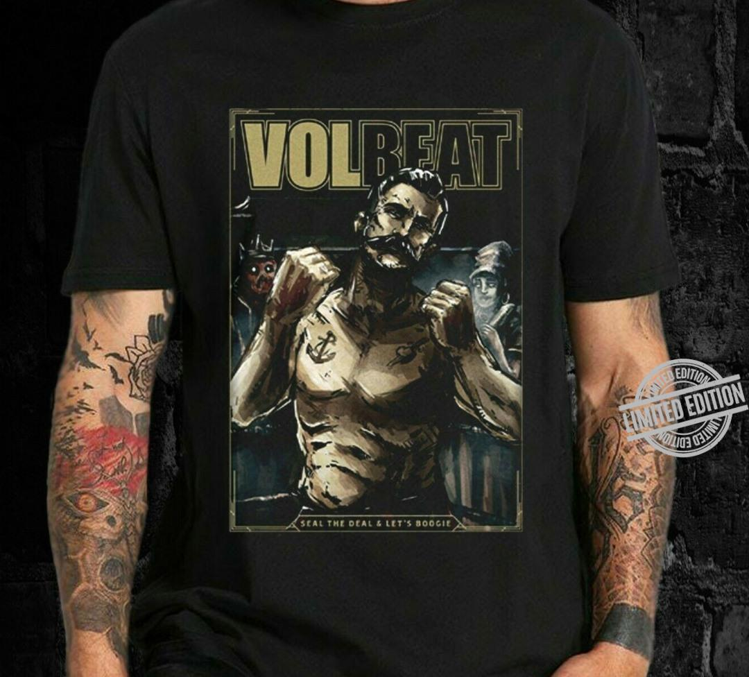 Volbeat Online Store Seal The Deal Let S Boogie Cover Shirt