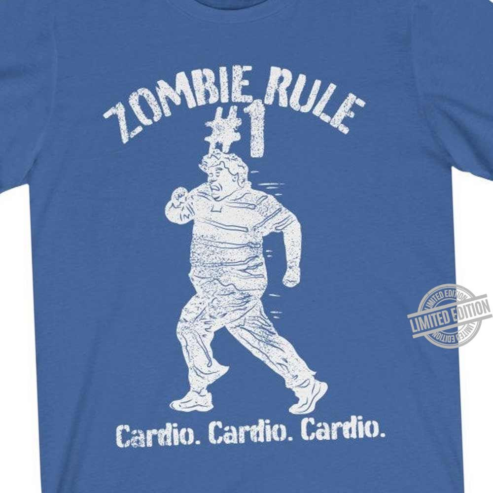 Zombie Rule Cardio Cardio Cardio Shirt